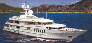 How much to charter a yacht called Huntress