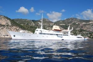 Charter yacht Christina O