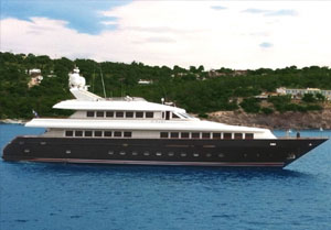 motor yacht charters in the Caribbean