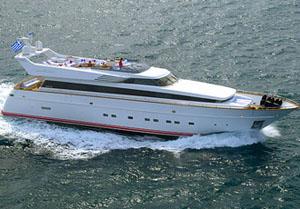 motor yacht pollux