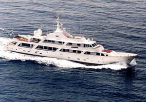 motor yacht white knight